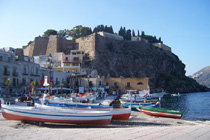 Fishing boats in Marina Corta - Lipari